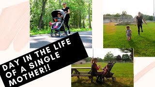 DAY IN THE LIFE OF A SINGLE MOM WITH A TODDLER 2020!! ( MOM VLOGS!!)