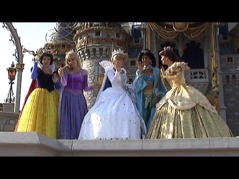 Cinderellabration Castle Show 2006 - Cinderella Coronation Pageant W/ Royal Court Of Princesses