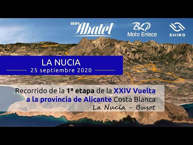 La Nucía. Primera etapa. Vuelta a la provincia de Alicante 2020