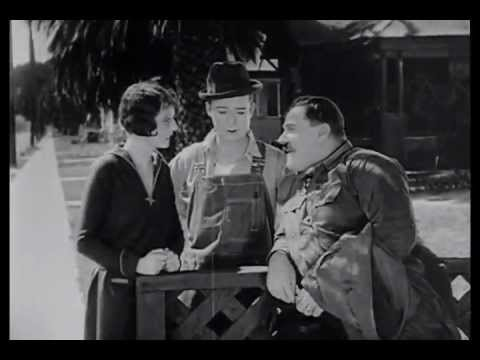"Harry Langdon in ""Saturday Afternoon"" with Vernon Dent"