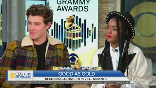 Shawn Mendes, Janelle Monae React To GRAMMY Nominations