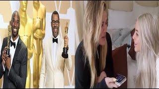 Jordan Peele & Kobe take home OSCARS+ the Kardashians announce that Khloe is having a GIRL👶🏽