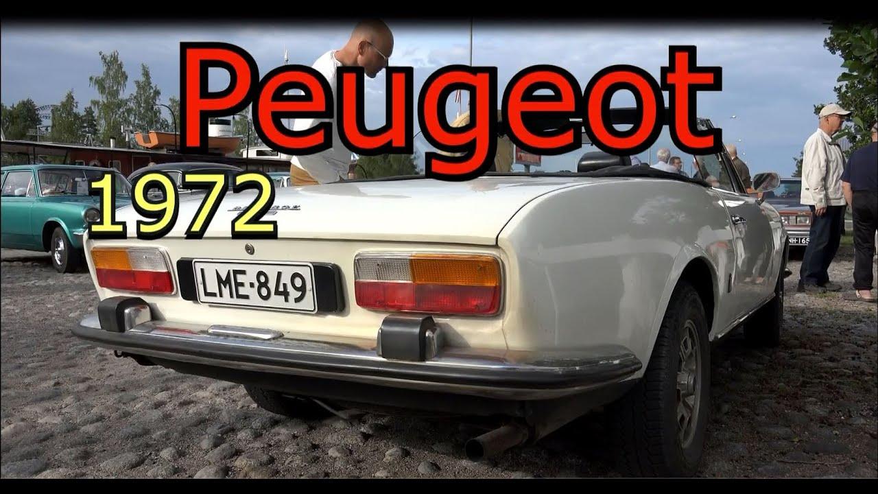 1972 Peugeot 504 Convertible Youtube