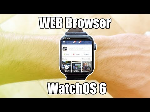Apple Watch -WatchOS 6 Launch  Internet Browser FOR Instagram, FaceBook, Google, And MORE!