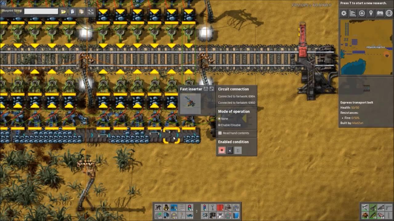 Factorio Workshop - Building A Better Factory :: Zuri's Smart Train Loader
