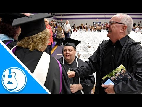 None - Good News: Man With Autism Graduates College After 12 Years