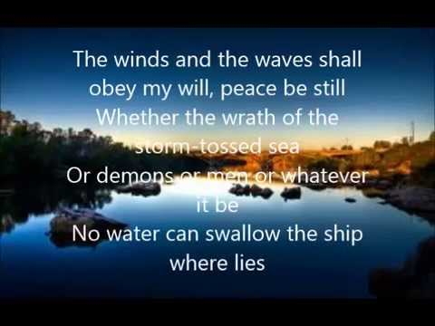 """Peace Be Still"" with Lyrics & Video by Rev. James ..."