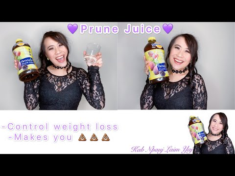 How do I manage my weight loss? 💜Prune Juice💜