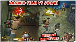 WHY THEY CALL ME MP40 KING ?? RANKED SOLO VS SQUAD MOMENT//GARENA FREE FIRE !!!