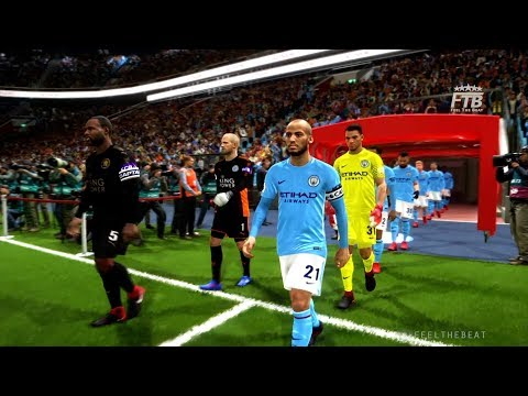 Manchester City vs Leicester City | PES 2018