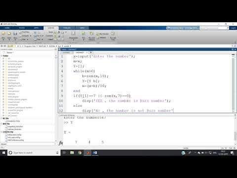 Buzz Number in MATLAB  & JAVA