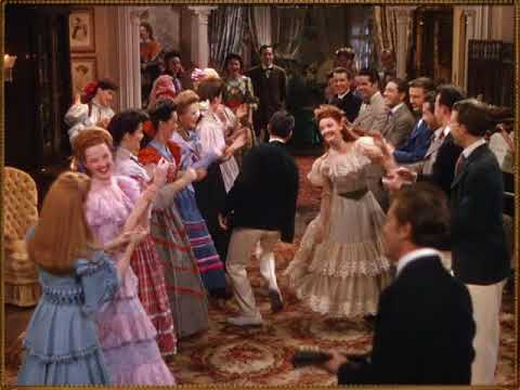 Skip To My Lou - STEREO DECCA RE-MIXED VERSION - Judy Garland - Lucille Bremer - Meet Me In St Louis