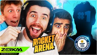 SIDEMEN BEAT WORLD CHAMPION IN ROCKET ARENA! (Rocket Arena)
