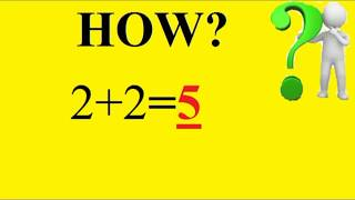 2+2=5 Proof in (Hindi/Urdu) |Trick Your Maths Teacher