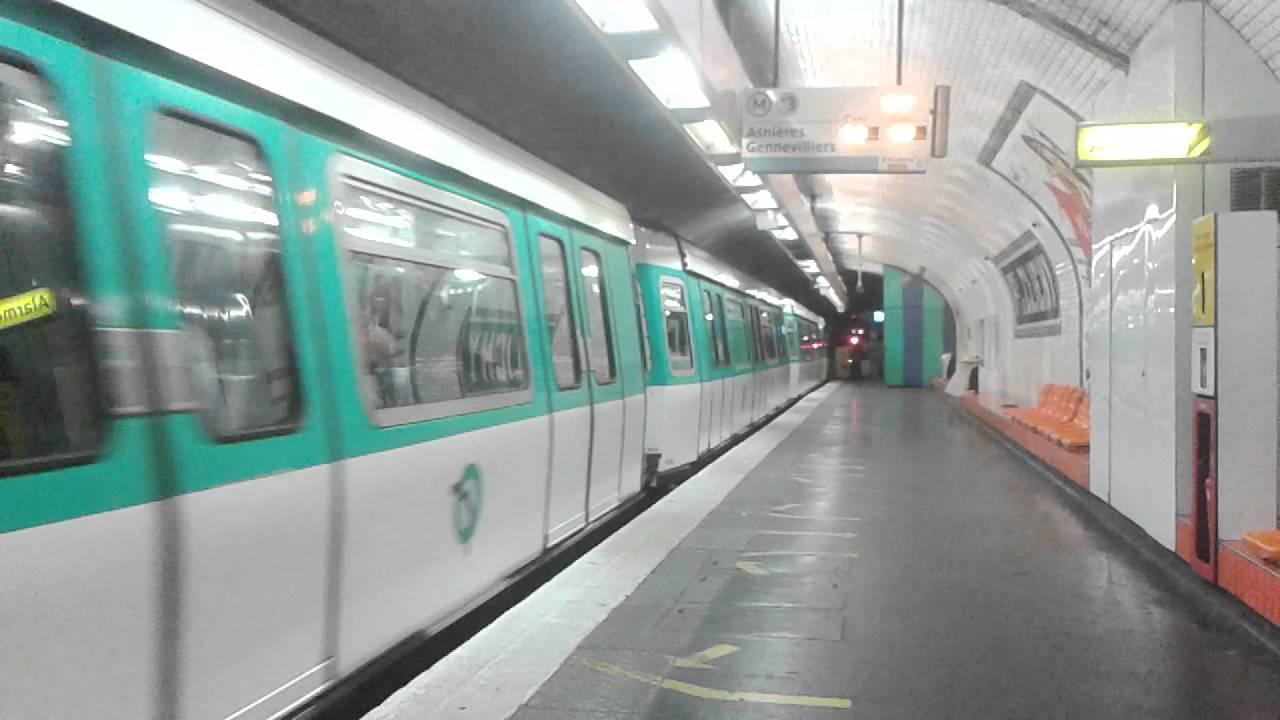 Mf77 Ligne 13 Ratp Porte De Clichy Youtube