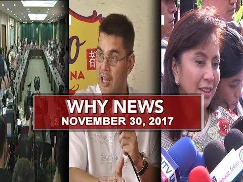 UNTV: Why News (November 30, 2017)