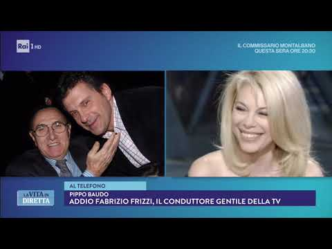 Addio Fabrizio Frizzi, il ricordo commosso di Pippo Baudo - La Vita in Diretta 26/03/2018