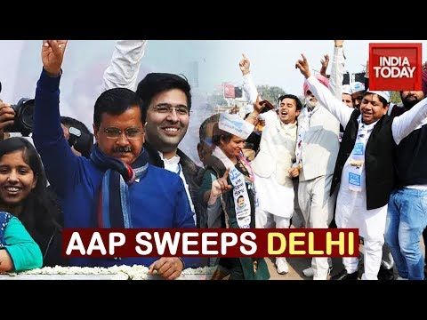Delhi Election Results: AAP Returns To Power In Delhi For Third Time