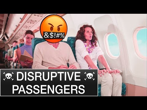 Passengers behaving badly - Mentour Pilot explains