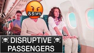Passengers OUT OF CONTROL. Mentour Pilot explains.