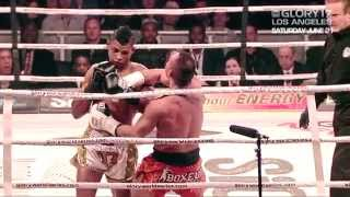 GLORY 17 Los Angeles - Andy Ristie vs. Ky Hollenbeck Pre Fight Interview