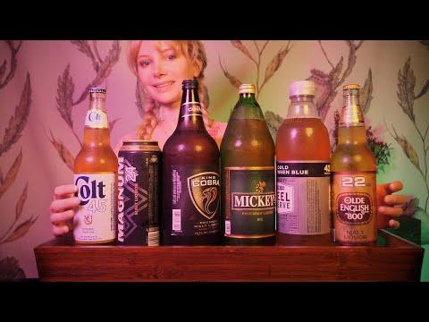 ASMR Malt Liquor Tasting 🍻