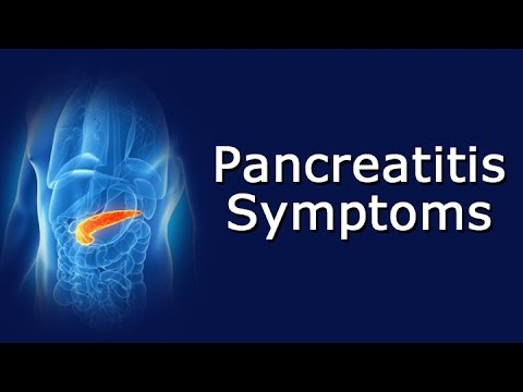 Pancreatitis Symptoms