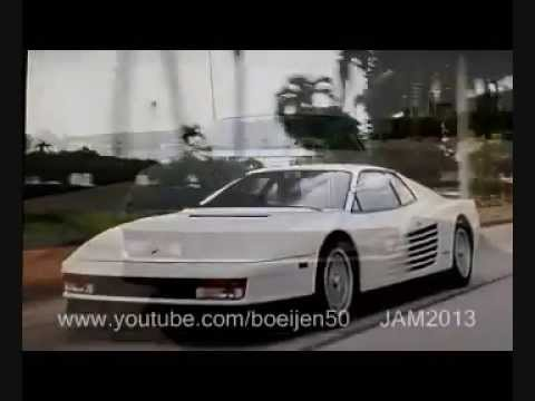 Car Show Miami >> Miami Vice - Ferrari Company Car - YouTube