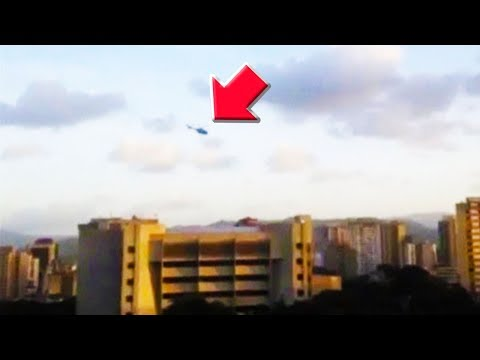 Rogue Police Helicopter Bombed Supreme Court In Venezuela (VIDEO)