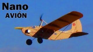 Micro nano avión RC (Como hacerlo facil y barato)| MrCuervoRC |