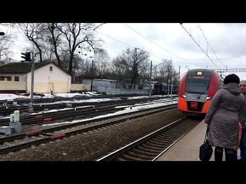 Электричка Москва-Тверь/Russian Suburban Train