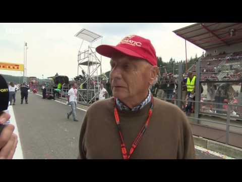 2015 Belgium - Post-Race: BBC Niki Lauda
