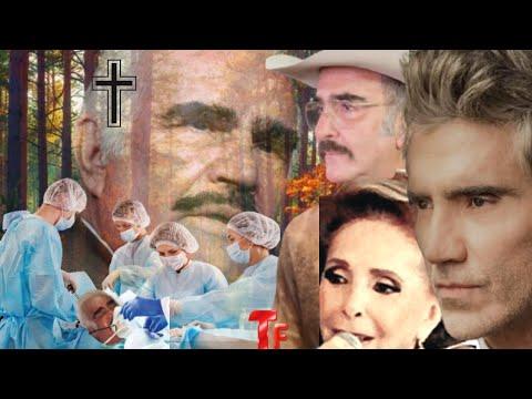 """ÚLTIMA HORA! DESGARRADORA NOTICIA! VICENTE FERNÁNDEZ """"YA SE DESPIDIÓ"""" de su FAMILIA, SUCEDIÓ HOY!"""