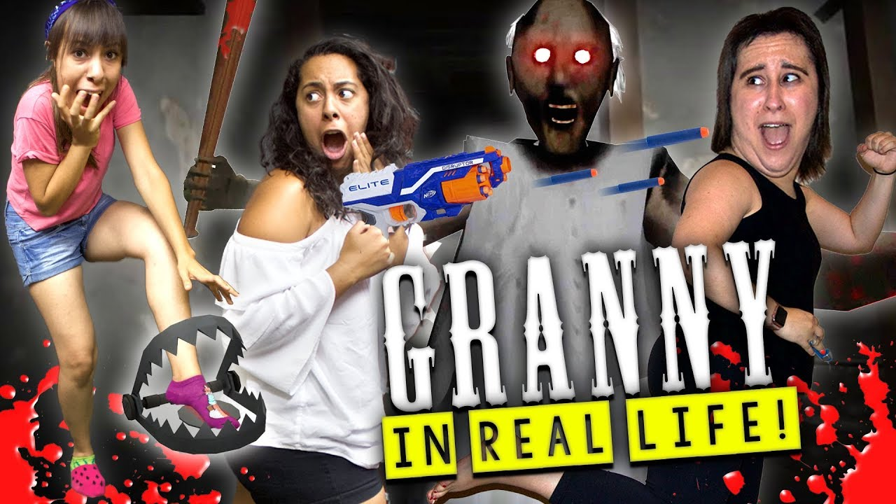 Granny Horror Game In Real Life With Bear Traps And -1258