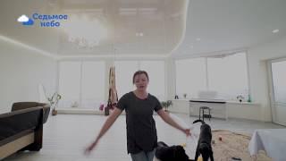 Натяжные потолки Алматы световые линии I Отзыв о натяжных потолках