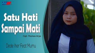Download Mp3 Dede Iher Feat Mumu - Satu Hati Sampai Mati     Versi Reggae