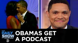 The Obamas' Spotify Podcast & Escaped Lions at Large in South Africa | The Daily Show