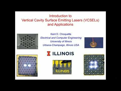 Kent Choquette: Introduction to Vertical-Cavity Surface