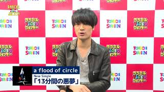 a flood of circle  メッセージ