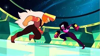 Битва Гранат и Яшма (Вселенная Стивена) / Fight Garnet and Jasper (Steven Universe) + rus sub(Момент из 1 сезон 49 серии., 2015-08-08T19:11:22.000Z)