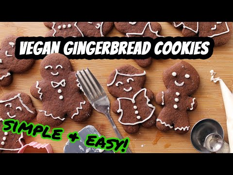 VEGAN GINGERBREAD COOKIES | Recipe by Mary's Test Kitchen