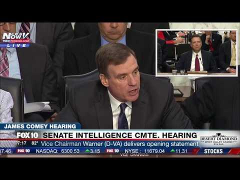 """""""THIS IS NOT FAKE NEWS"""" Senator Mark Warner On James Comey Testimony (FNN)"""