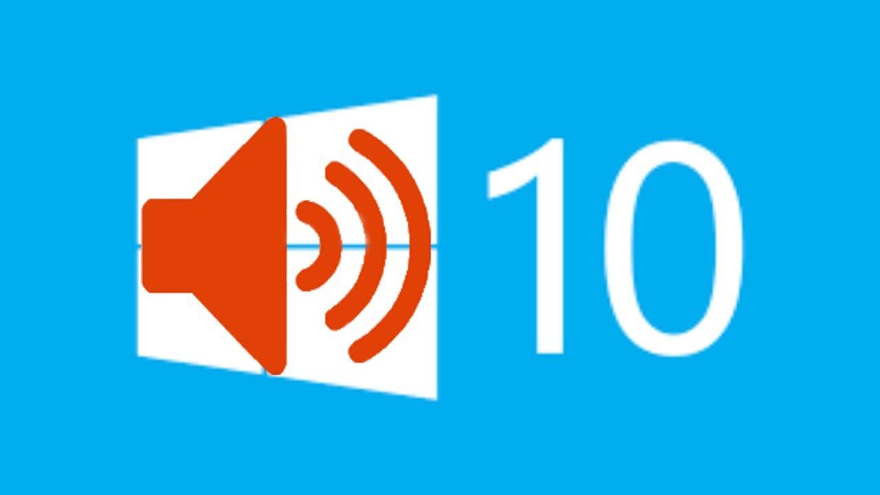 win10 startup sound