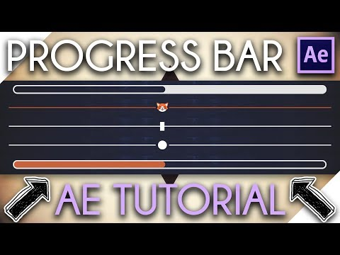 Progress Bar Tutorial - After Effects Tutorial HD