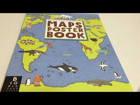 MAPS POSTER BOOK BIG PICTURE PRESS   YouTube MAPS POSTER BOOK BIG PICTURE PRESS