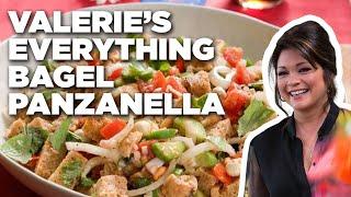 Valerie Bertinelli's Everything Bagel Panzanella Salad   Valerie's Home Cooking