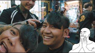 THÁI VŨ FAP TV GHÉ CHƠI SẴN QUẬY TƯNG BỪNG TIỆM | Barbershop Vũ Trí