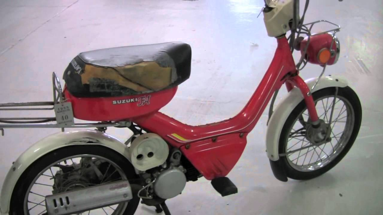 small resolution of  from the archives 1980 suzuki fa50 moped test drive with chris moran from chicago motor cars youtube