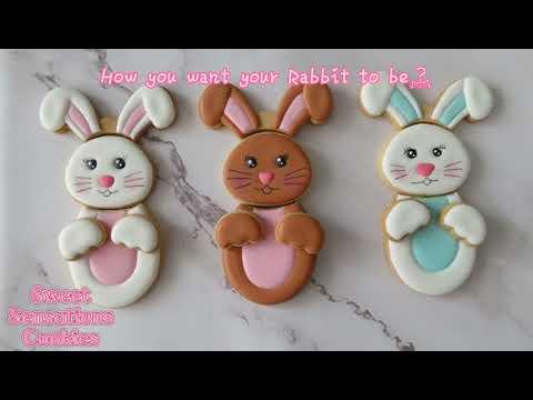sweetsensationbunny Easter bunny shape cutter set video