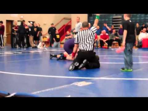 MHSAA 2012 IndividualRegional #7-2 215lbs          Brian Moran